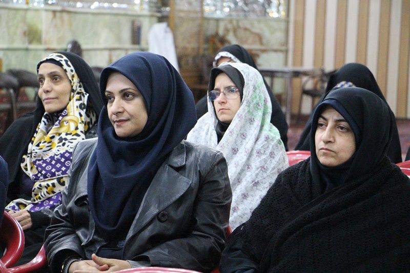 برگزاری کرسی اخلاق اسلامی و زیارت استادان دانشکده توانبخشی از امامزاده صالح(ع)