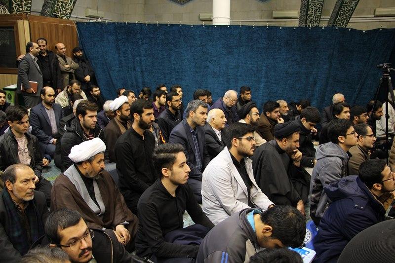 تجمع دانشگاهیان دانشگاه های تهران و علوم پزشکی تهران در محکومیت ترور ناجوانمردانه سردار سلیمانی