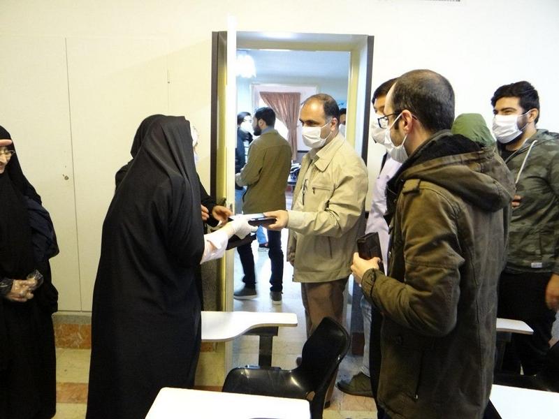 آزمون پایانی سومین دوره آموزشی و تجلیل از داوطلبان قرارگاه جهادی حضرت نرجس خاتون (س)