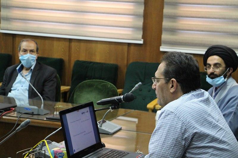 برگزاری جلسه آنلاین دانشافزایی استادان دانشگاه با موضوع بلایا و تأثیرات اجتماعی آن با محوریت کرونا