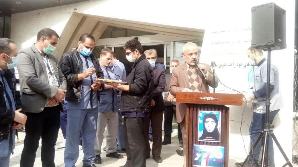 مراسم گرامیداشت یاد و خاطره شهیده عزت الملوک کاووسی