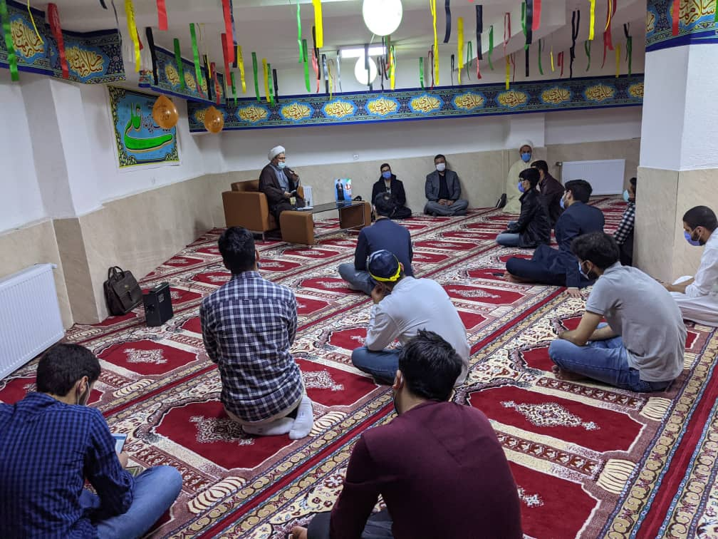 جشن ولادت امام علی (ع) در خوابگاه دمشق