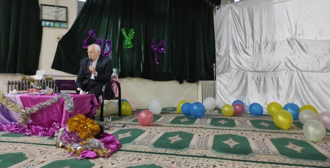 برگزاری مراسم روز دختر بمناسبت ولادت حضرت معصومعه (س) ویژه دانشجویان دختر در مسجد امام علی(ع) خوابگاه کوی