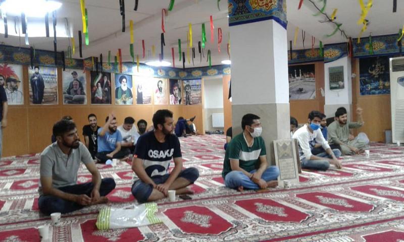 برگزاری جشن میلاد حضرت امام رضا (ع) در خوابگاه دمشق دانشجویان بین الملل