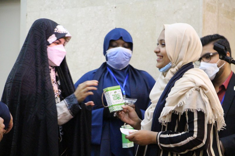 مراسم جشن عید غدیر ویژه دانشجویان بینالملل دانشگاه علوم پزشکی تهران