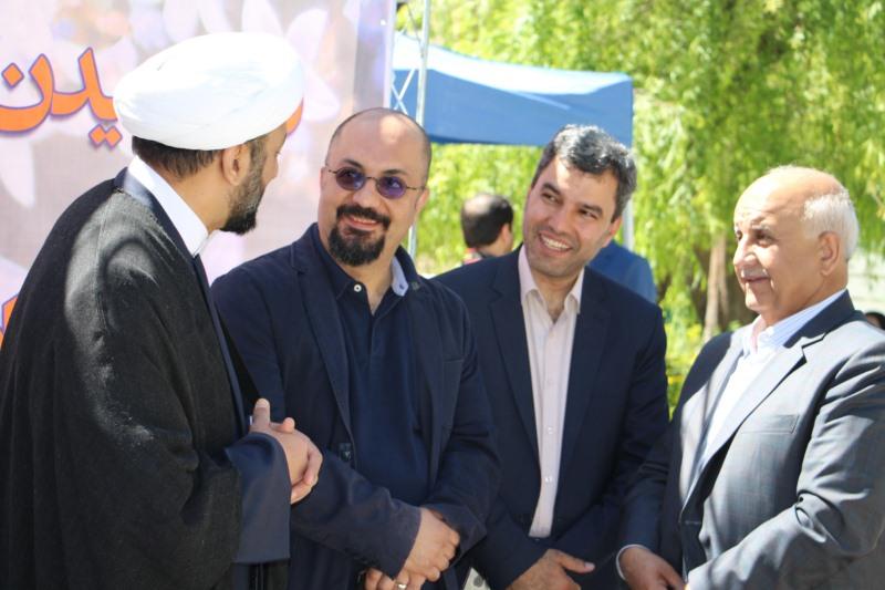 دیدوبازدید نوروزی مسئول نهاد نمایندگی مقام معظم رهبری با اعضای خانواده دانشگاه