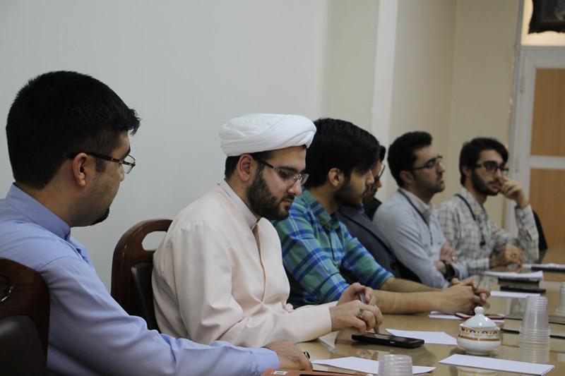 نشست اتاق فکر مدیریت فرهنگی و سیاسی نهاد