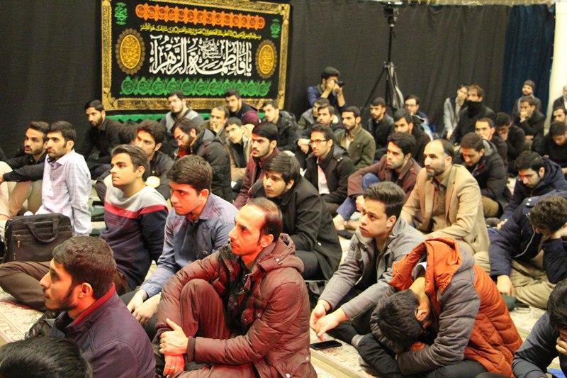 برگزاری مراسم عزاداری ایام فاطمیه توسط هیئت دانشجویی ثارالله