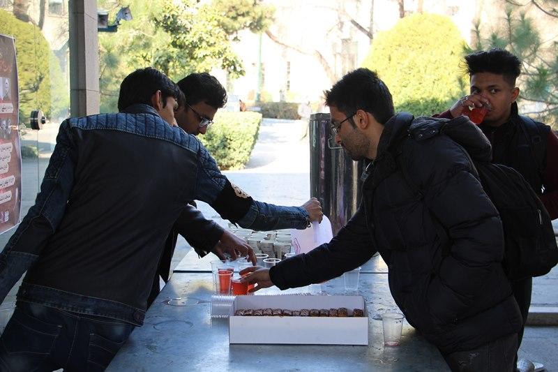 مراسم عزاداری ایام فاطمیه ویژه دانشجویان اردو زبان پردیس بینالملل