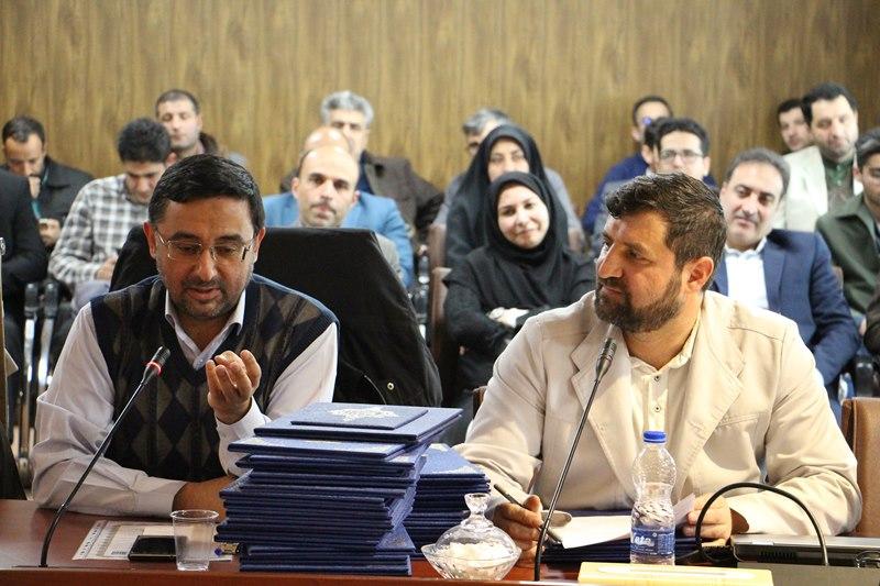 مراسم تجلیل از فعالان نماز دانشگاه علوم پزشکی تهران