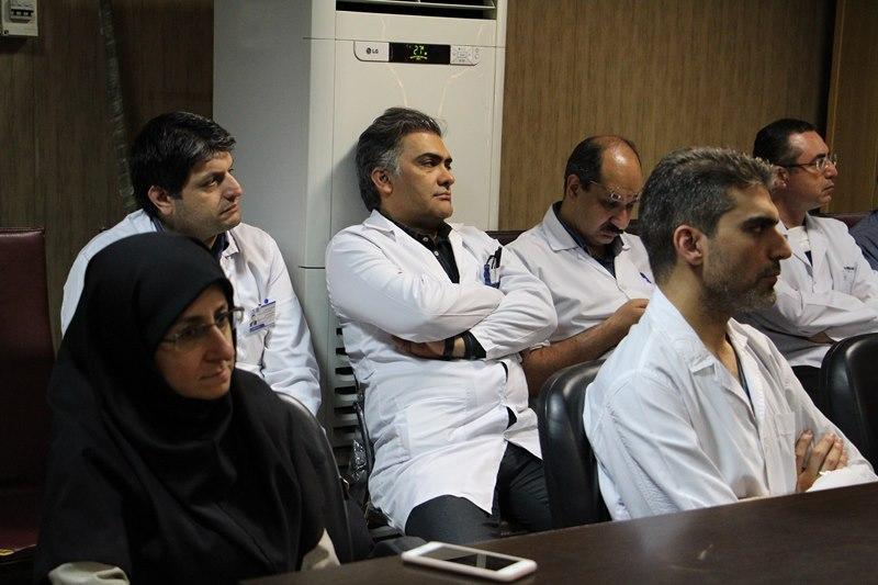 کارگاه دانشافزایی استادان با موضوع تفسیر قرآن ویژه ماه مبارک رمضان در بیمارستان مرکز طبی کودکان