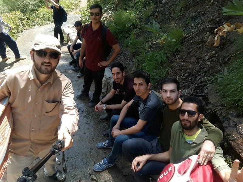 برگزاری اردوی تفریحی آبشار شکرآباد فشم، ویژه دانشجویان خوابگاه وصال