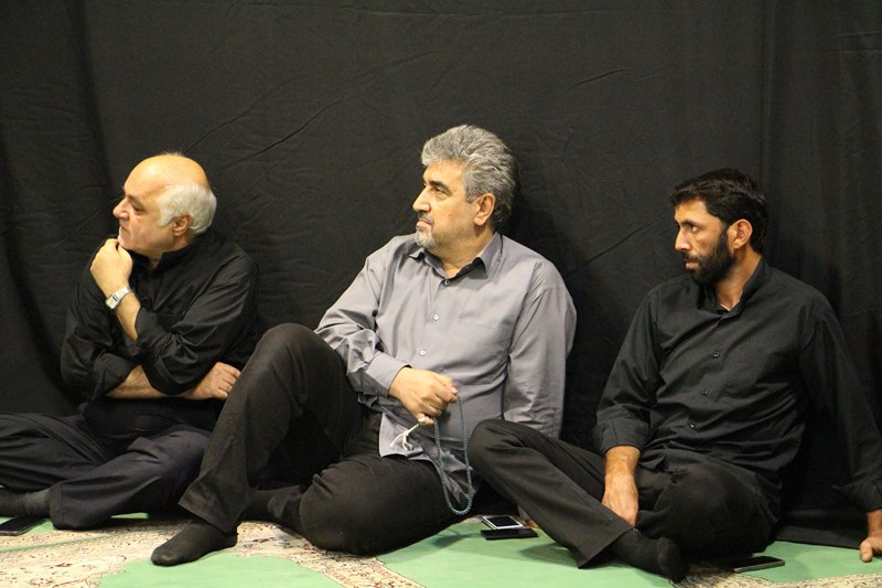 برگزاری مراسم سوگواری حضرت سیدالشهدا (ع) در دانشکده توانبخشی