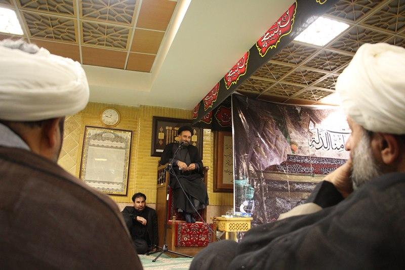 مراسم عزاداری حضرت اباعبدالله الحسین (ع) در ساختمان مرکزی دانشگاه